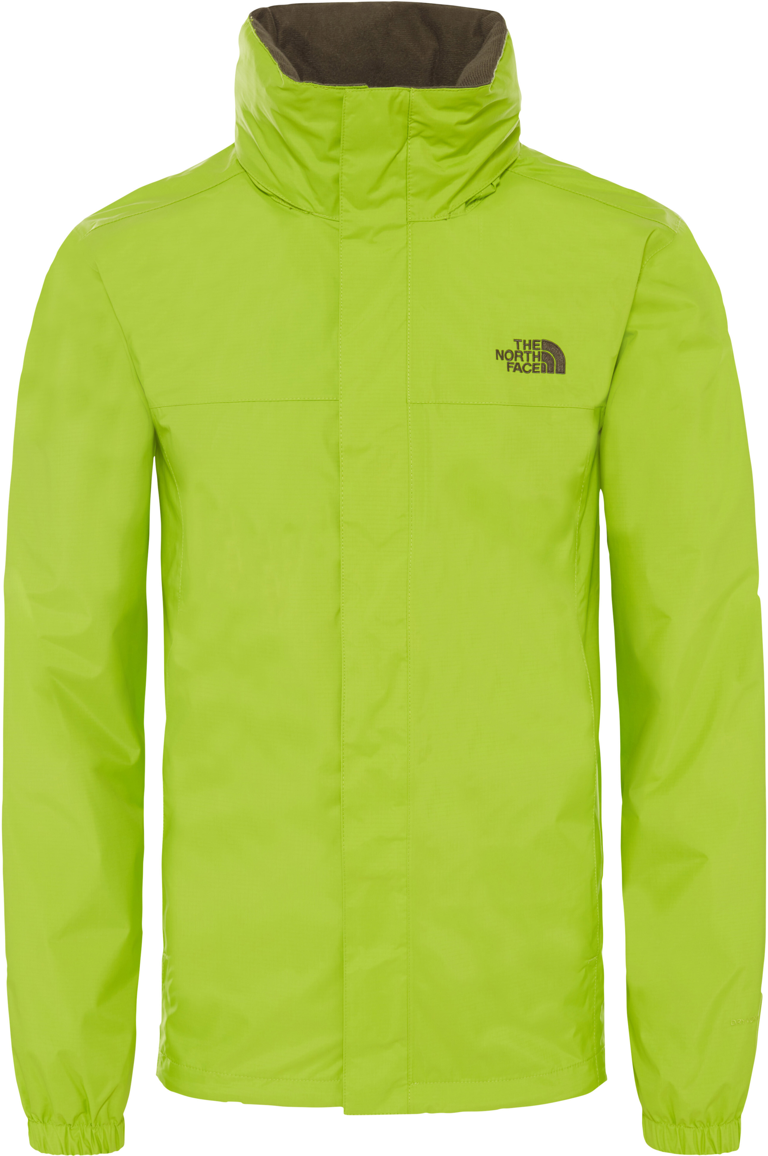 4dc059cb7e The North Face Resolve 2 Jacket Herren lime green/new taupe green ...